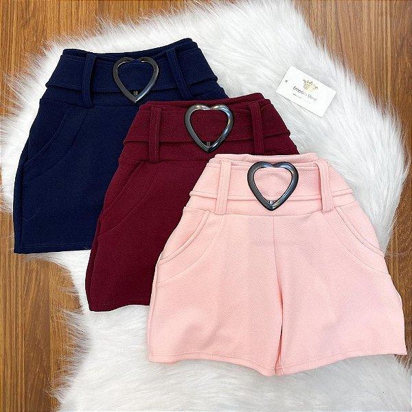 Shorts Malha Crepe