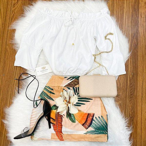 Shorts-Saia Estampado