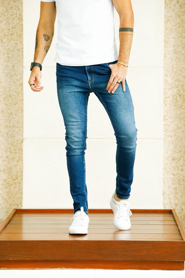 Calça Jeans Metal carbono