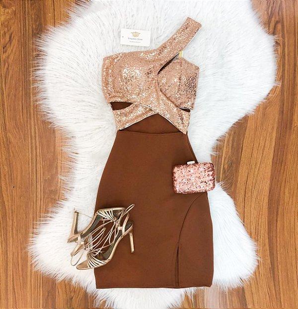 Vestido Paetê