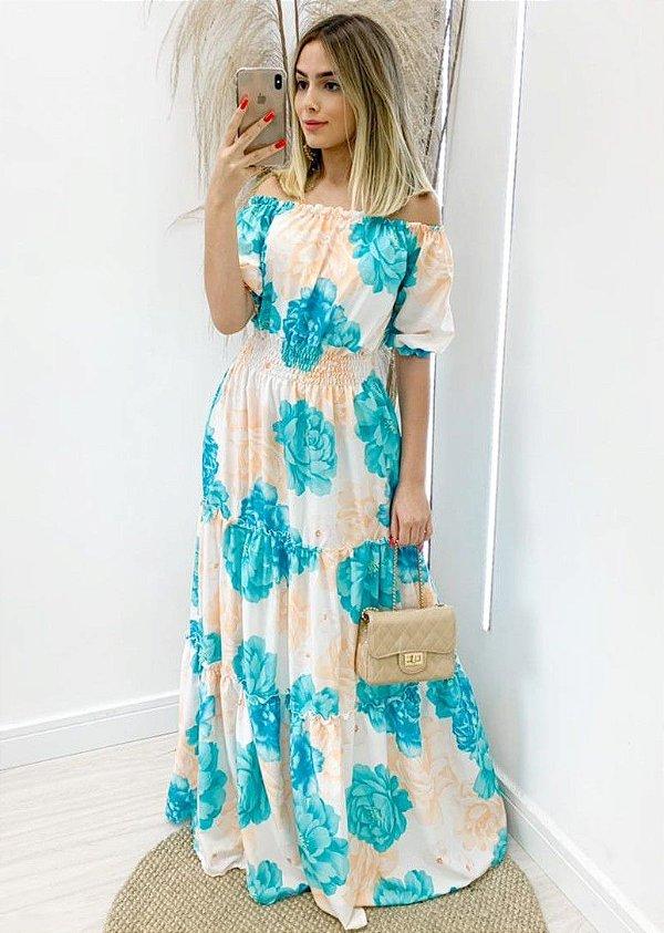 Vestido Silky Flor