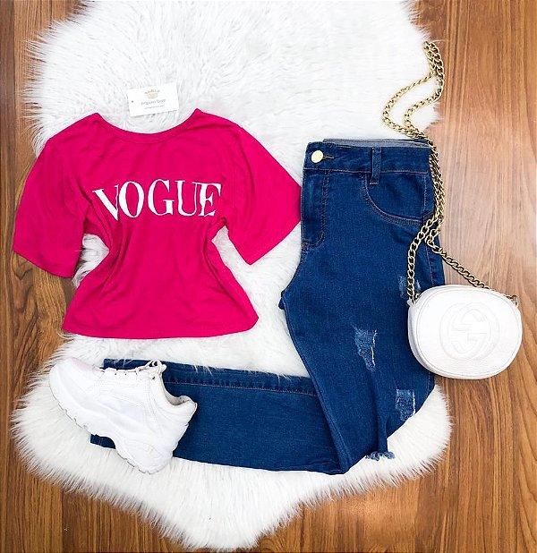 Cropped Vogue Viscolycra