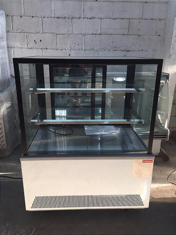 VITRINE  SULFISA NEUTRA INOX 1000x700x1250MM