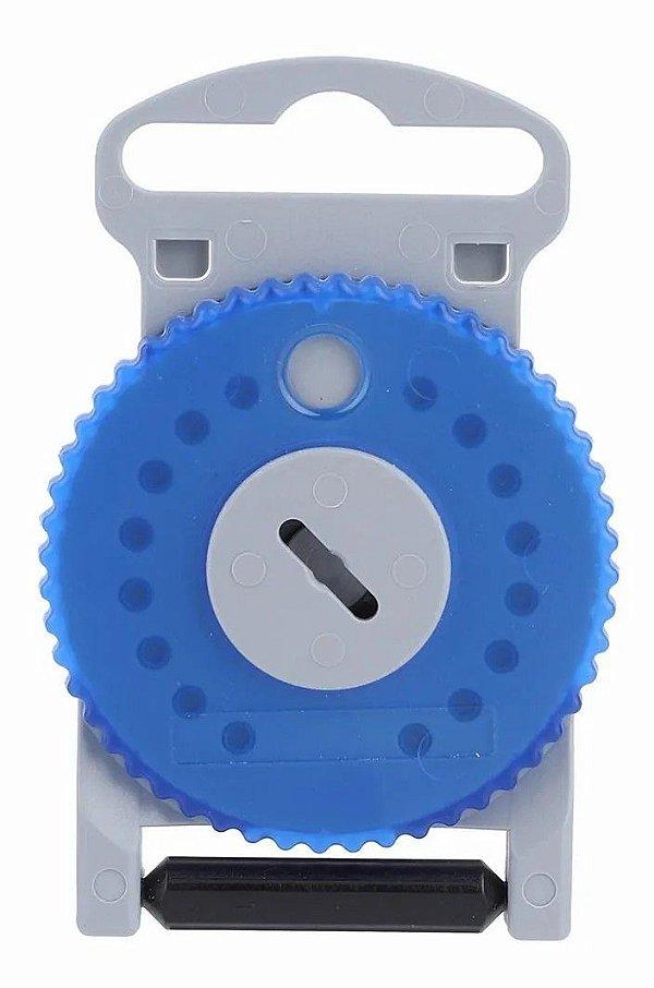 HF4 - Protetor de cera Azul para aparelho auditivo (lado esquerdo). Contém 15 UNIDADES