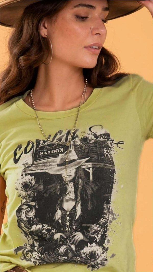 T- Shirt Feminina Tassa