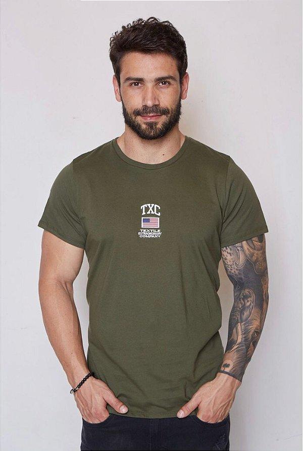 Camiseta Masculina TXC Ref. 19560