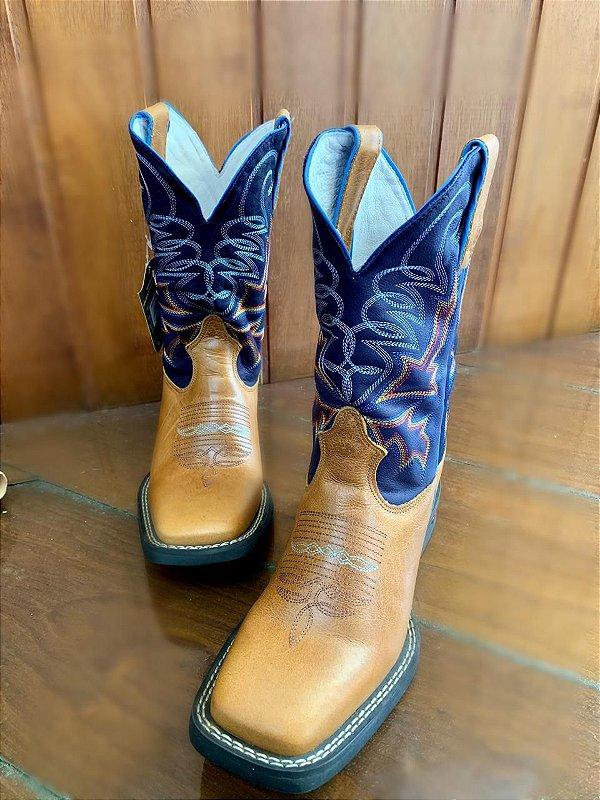 Bota Masculina Durango Azul Bic ( 5139)