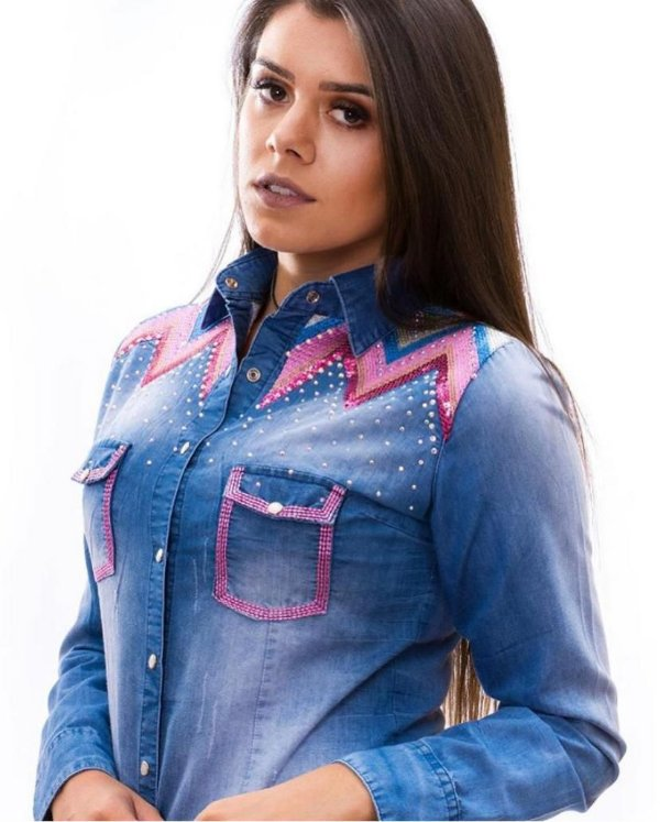Camisete Miss Country  Jeans Rubelita