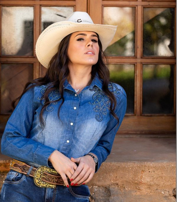Camisete Miss Country Jeans Glamour