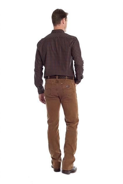 Camisa Tassa Xadrez - Mostarda/Marinho