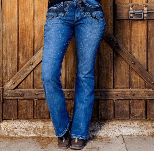 Calça Feminina Miss Country Jeans Country