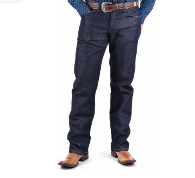 Calça Wrangler Masculina Cowboy Cut Escura 13M68PW36