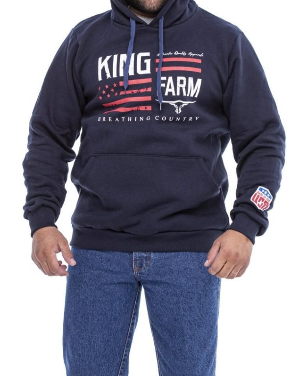 Moletom King Farm Masculino
