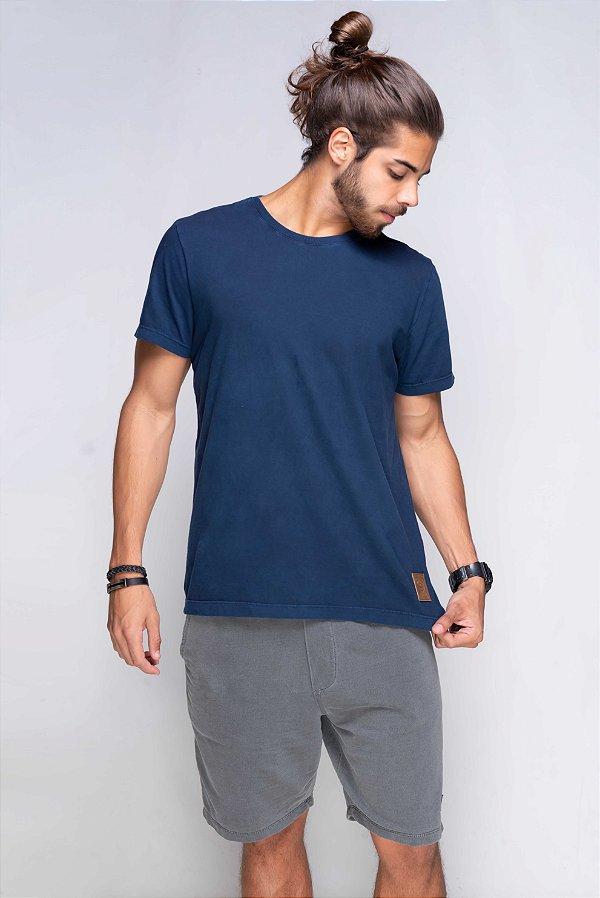 Camiseta Básica Azor  Premium Azul