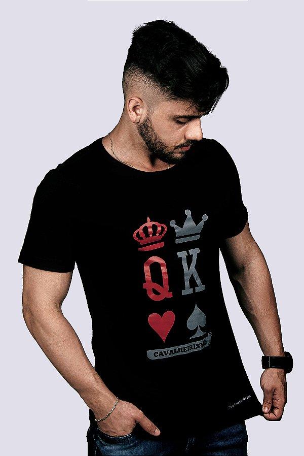 Camiseta Slim Fit Azor Cavalheirismo