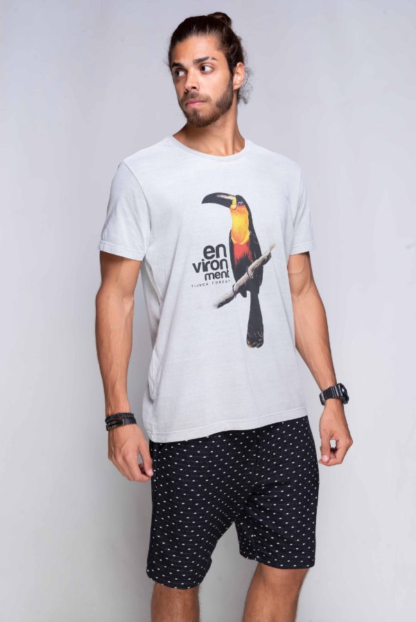 Camiseta Tijuca Forest Estonada