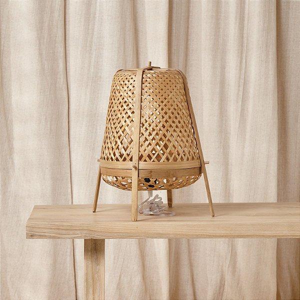 Luminária Bambu Tripé