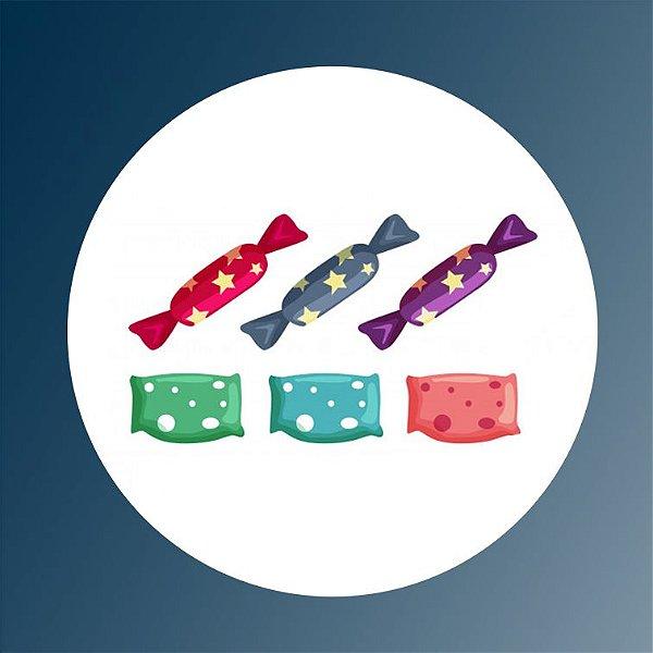 Kit com Doces - Dia das Crianças (3 crianças)