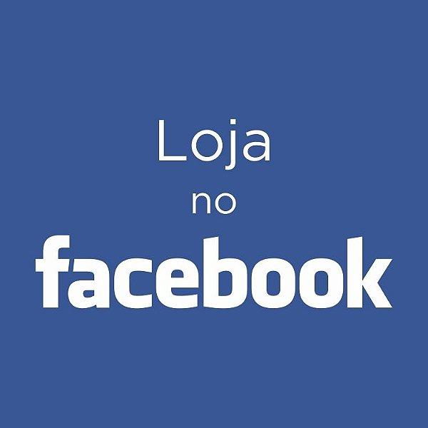 Loja no Facebook - Com controle de estoque