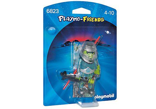 6823 PLAYMOBIL PLAYMO FRIENDS GUERREIRO ESPACIAL