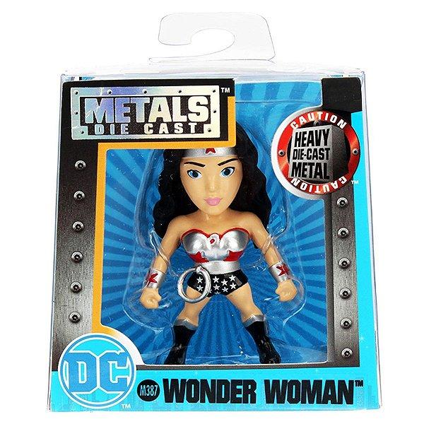 4021 DC COMICS METAL DIECAST 6CM WONDER WOMAN M387