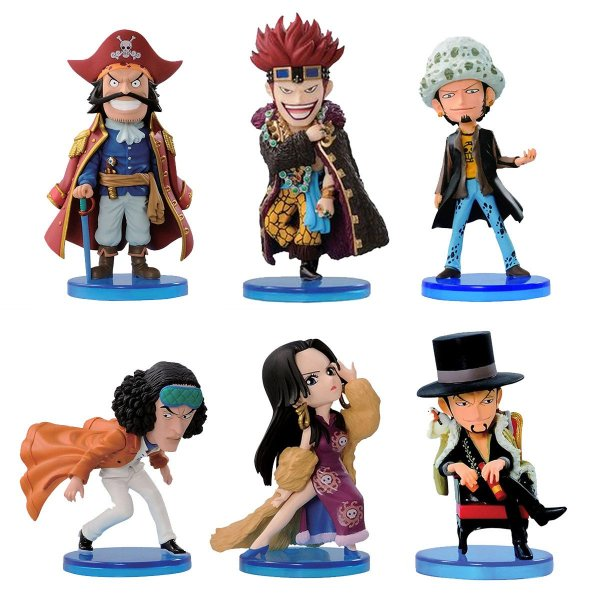 30225 BANPRESTO ONE PIECE WCF LOG COLLECTION V1 8CM KIT