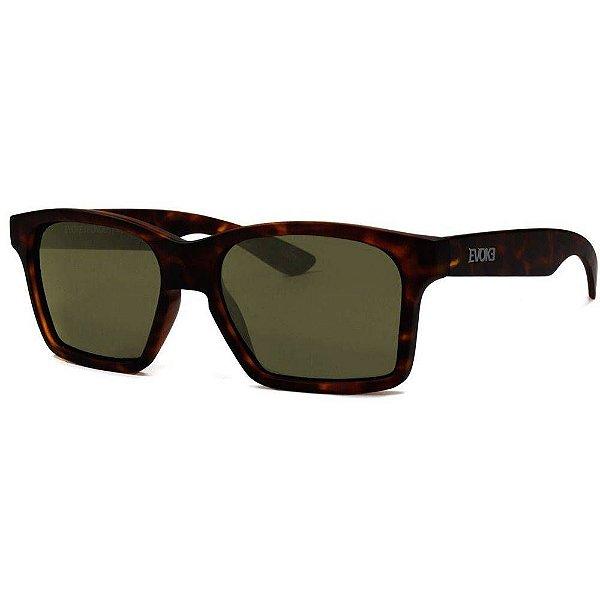f41085b527032 Evoke Thunder - Óculos de Sol - BR04 Dark Turtle Brown - dlqt co.