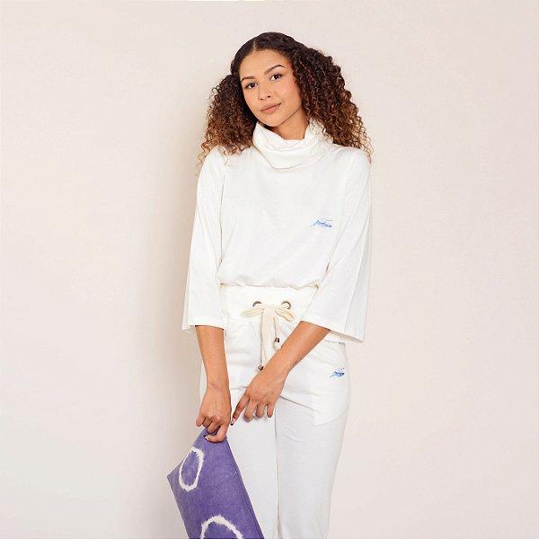 Blusa comfy off white