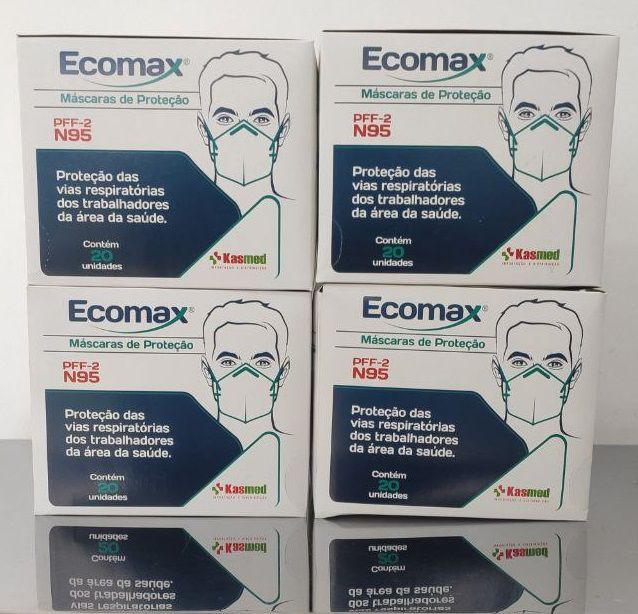 Máscara de Proteção Ecomax N95 - 20 Unidades