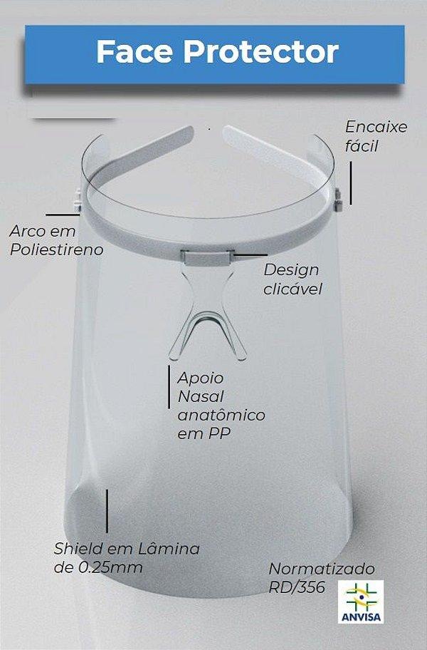 Máscara de Proteção Reutilizável - FaceProtector