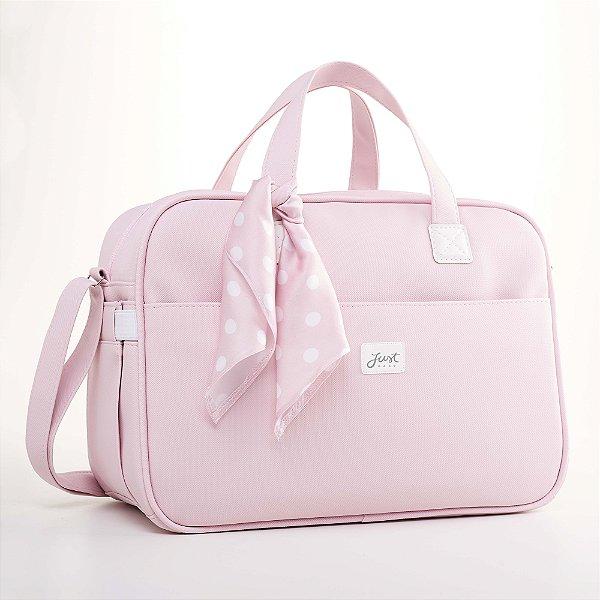 Bolsa Maternidade Candy Rosa - Just Baby