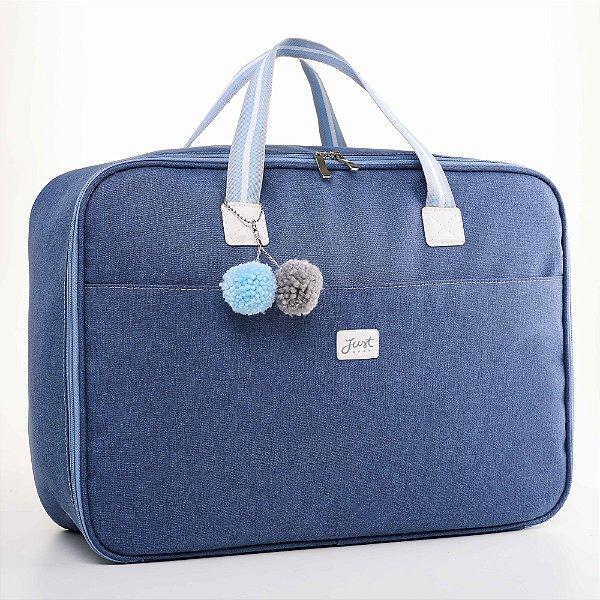 Mala Maternidade Color Azul - Just Baby