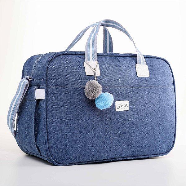 Bolsa Maternidade Color Azul - Just Baby