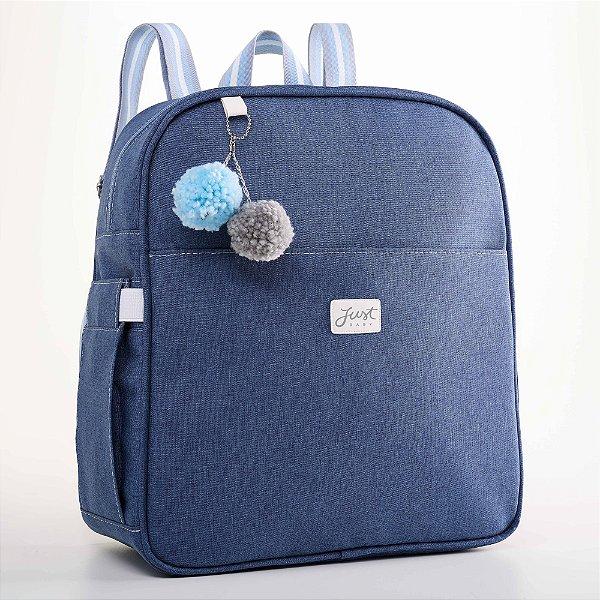 Mochila Maternidade Color Azul - Just Baby