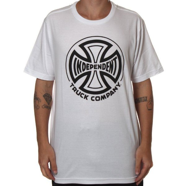 Camiseta Independent Truck Co Branca Ref:60200500