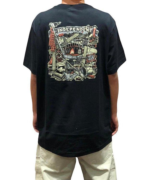 Camiseta Independent Crust Preta Ref:6041013