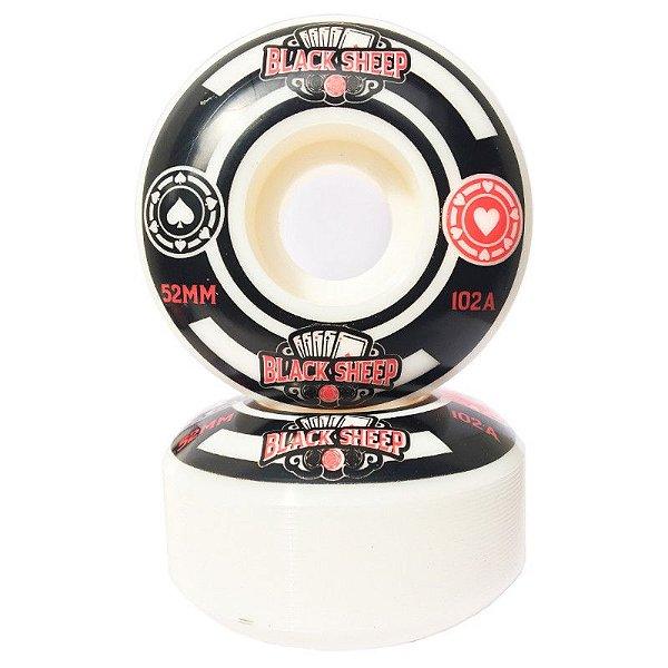 Roda para Skate Profissional Black Sheep 52mm 102A