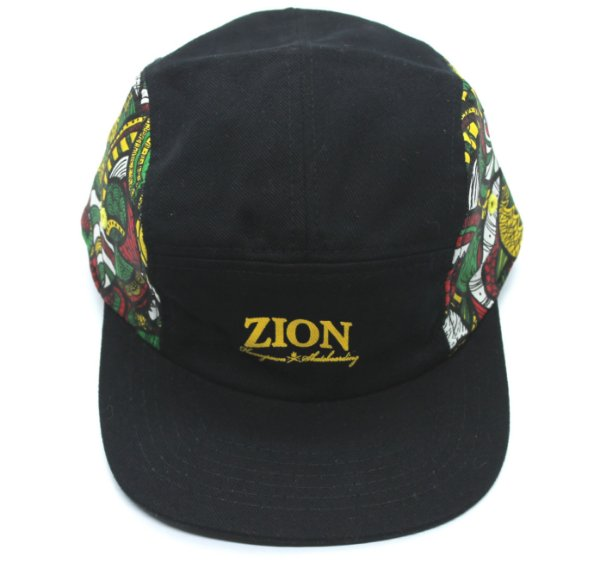 Boné Five Panel Zion Estampado Amarelo (escrita)