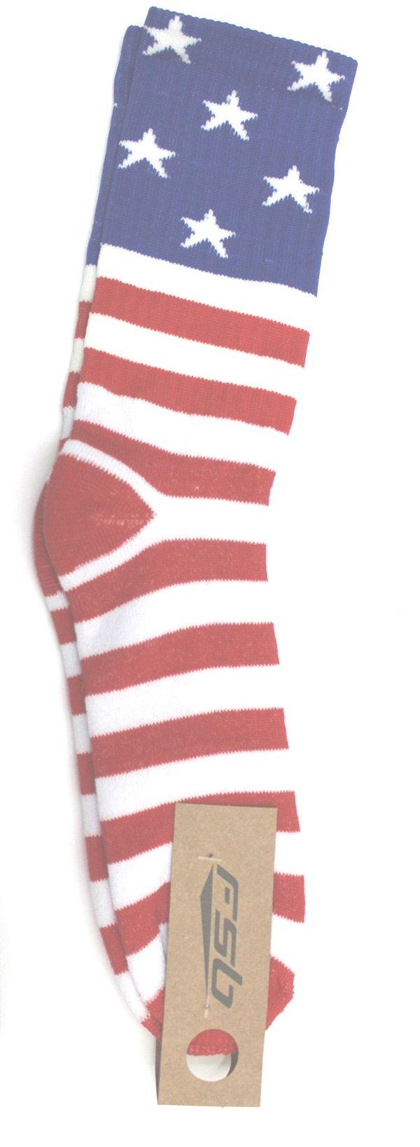 Meia Alta Fsb Bandeira Estados Unidos