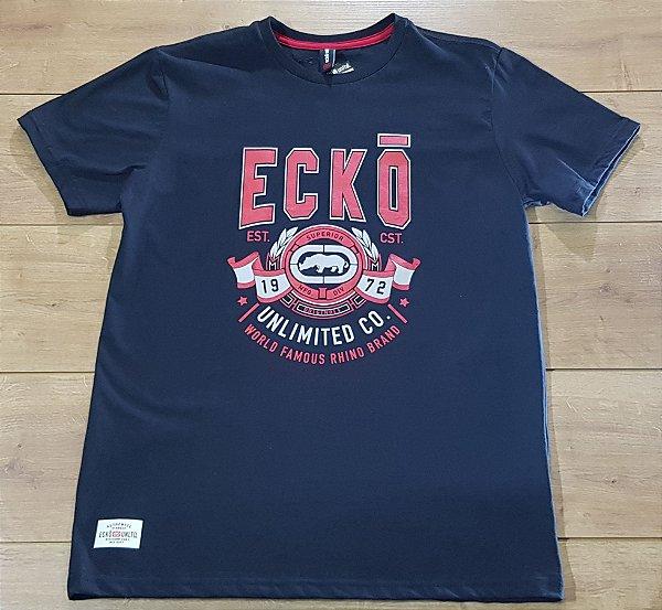 Camiseta Ecko Asc Estampada