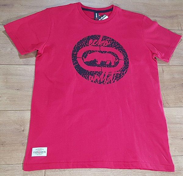 Camiseta Ecko Logo Vermelha