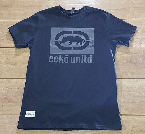 Camiseta Ecko Preto ref. E658A