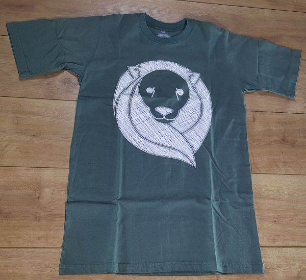 Camiseta Zion Verde Logo Branco