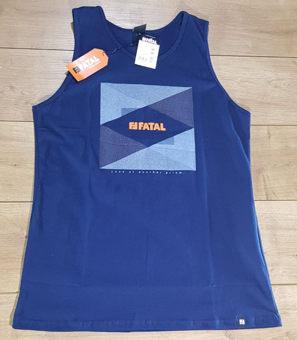 Camiseta Regata Fatal Azul