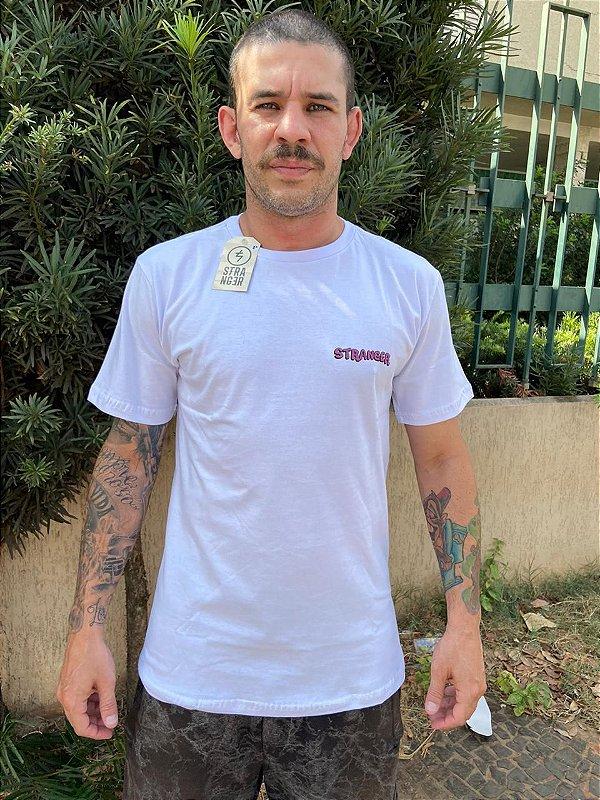 Camiseta Stranger Cogumelo