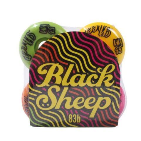 Roda De Skate Importada Black Sheep 53mm Coloridas 102a dureza
