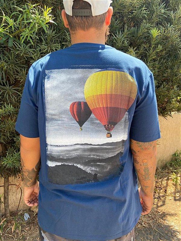 Camiseta Big Memphis Azul Marinho