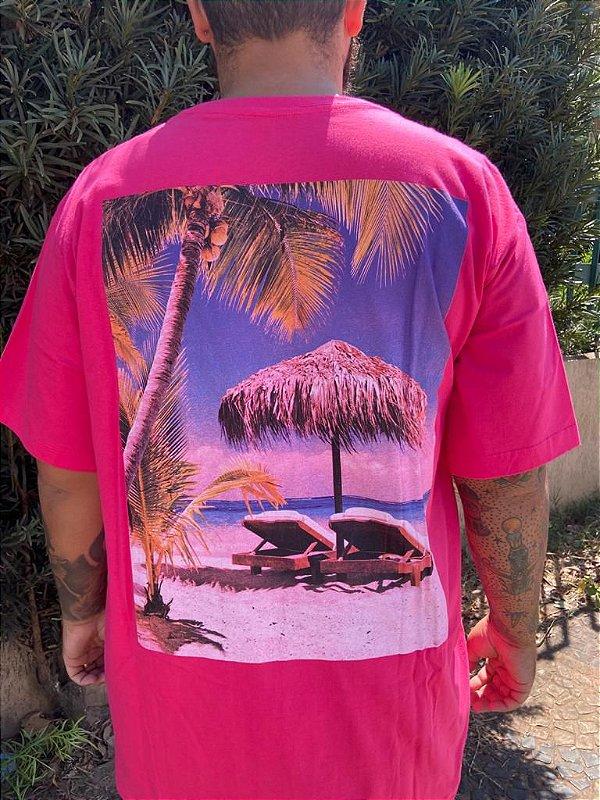 Camiseta Big Memphis Rosa