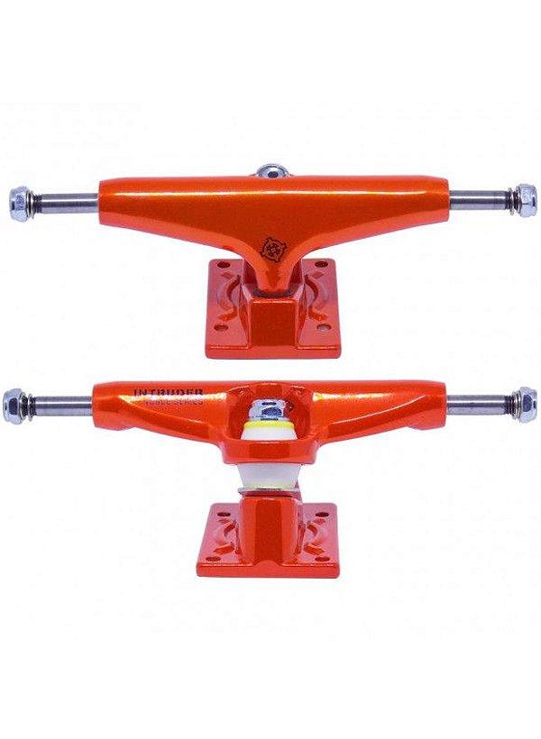 Truck Intruder Noble Séries Orange Neon 139mm Mid