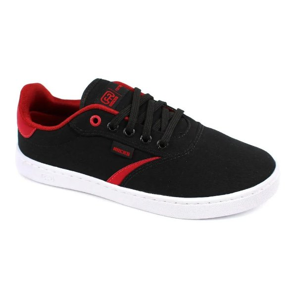 Tênis Hocks Trip Black/Red